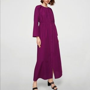 MNG Long 100%  Cotton Long Sleeve Dress